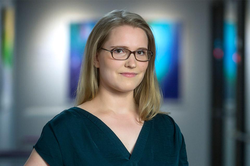 Keskuskauppakamarin markkinointikoordinaattori Eva-Riitta Simonsson.