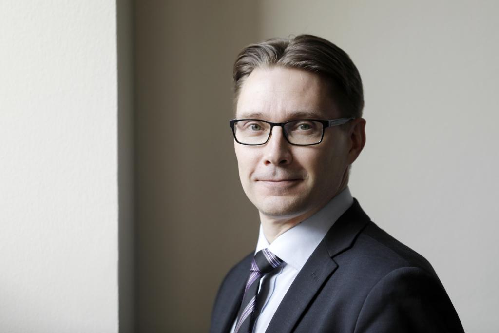 Kuvassa Ville Kajala.